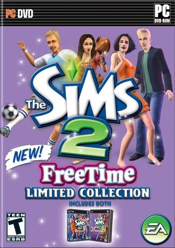 Обложка игры The Sims 2: FreeTime.