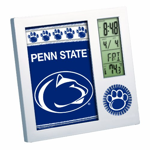 Ncaa penn state nittany lions digital desk clock home for Penn state decorations home
