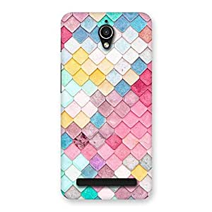 Gorgeous Rock Pattern Multicolor Back Case Cover for Zenfone Go