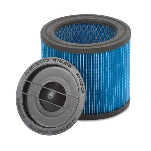 Shop-Vac Products - Shop-Vac - Ultra-Web Cartridge Filter for HangUp Vacs - Sold As 1 Each - Nanofibers make cleanup a snap. - Up to five times more efficient. - For small, dry debris and wet materials like cold fireplace ash, auto refinishing, cement dust, sawdust and drywall dust. - Easy on/off design. -