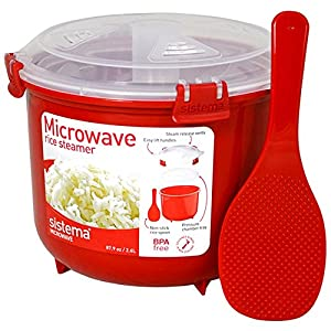 sistema plastic microwave rice steamer. Black Bedroom Furniture Sets. Home Design Ideas