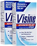 Visine Visine Advanced Redness Plus Irritation Relief Eye Drops, 0.5 oz