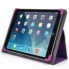 Kroo Universal Multi Fit 8 to 10 Inches Tablet Folio Case, Purple (MU10EXU1-8359)