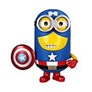Win8Fong Despicable Me 2 Captain America Minion Superhero PVC Edition Figure HOT New