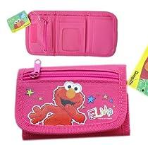 Elmo Wallet - Sesame Street Wallet (Pink)
