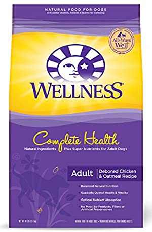 Wellness Complete Health Natural Dry Dog Food, Chicken Recipe