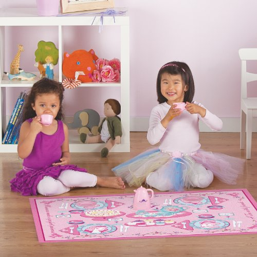 Disney Princess Tea Party Play Rug
