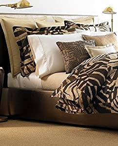 Lauren By Ralph Lauren Victoria Falls Zebra Pattern Set of 2 King Pillowcases