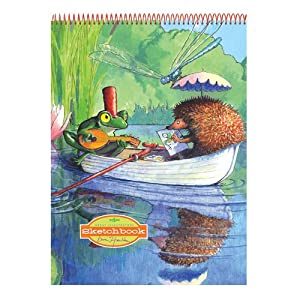 Eeboo Sketchbook: Boat Ride