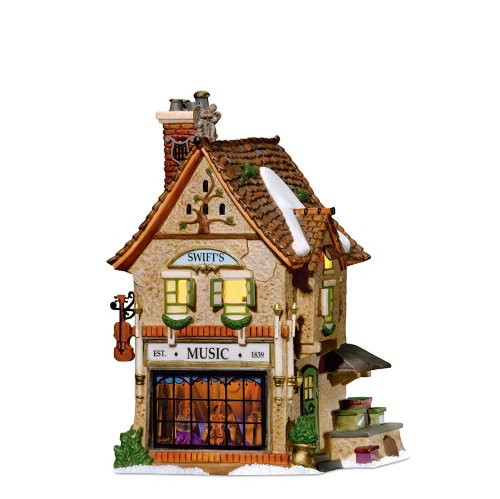 Department 56 Dickens Village Swifts Stringed Instruments