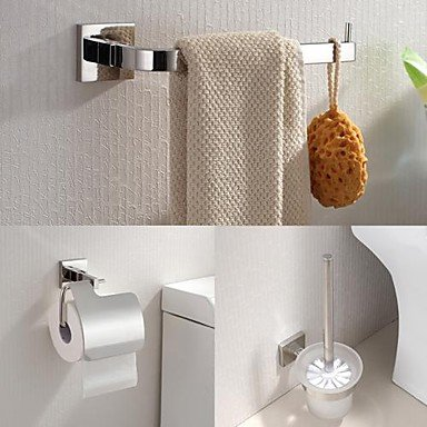 mirror polished wall mounted bathroom accessory