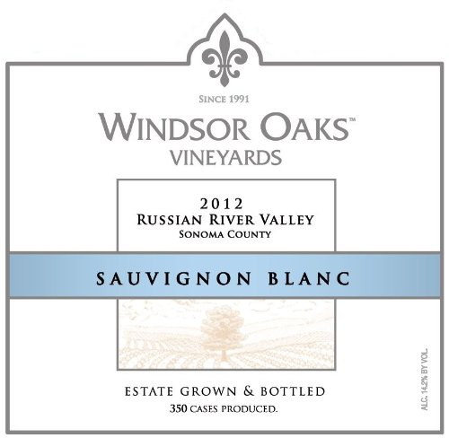 2012 Windsor Oaks Vineyards Russian River Valley Sauvignon Blanc 750 Ml