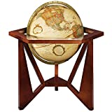 Replogle Globes San Marcos Globe, Antique Ocean, 12-Inch Diameter
