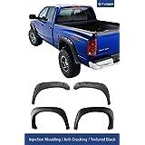 Tyger Auto TG-FF8D4078 For 02-08 Dodge Ram Pickup Truck, Textured Black Pocket Bolt-Riveted Style Fender Flare Set, 4 Piece