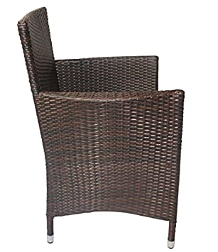 2 rattan sessel stuhl st hle garten rattan m bel rattansessel rattanstuhl kissen dc679. Black Bedroom Furniture Sets. Home Design Ideas