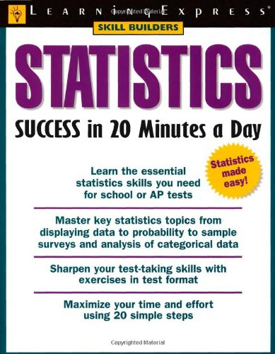 Statistics Success in 20 Minutes a Day