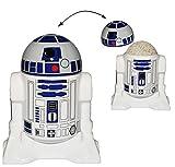 """Eierbecher mit Deckel - """" Star Wars - R2-D2 """" - Porzellan / Keramik - Eier Halter - für Erwachsene & Kinder - Roboter Droide - Starwars Clone - Eierwärmer - Küche Zubehör / Krieg der Sterne"""