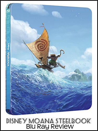 Review: Disney Moana Steelbook Blu Ray Review