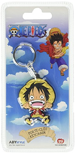 LLAVERO ONE PIECE LUFFY PVC