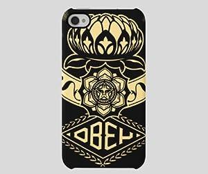 Incase - Shepard Fairey Snap Case for iPhone 4 CL59916 Lotus Ornament Snap Case
