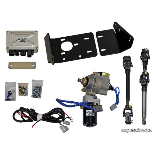 Superatv Ps-P-Rzr Ez Steer Electric Power Steering Conversion Kit For 2009-13 Polaris Rzr 800; Rzr S 800; And Rzr 4 800
