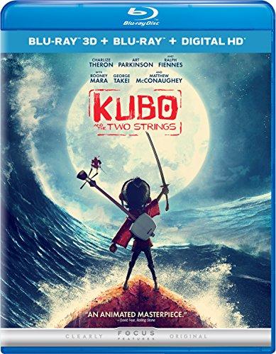 Kubo Two Strings Blu Ray
