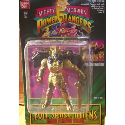Mighty Morphin Power Rangers Evil Space Aliens Sword Slashing Goldar