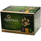 Applaws Chicken Multipack 6 x 70 g (Pack of 8, Total 48 Pouches)
