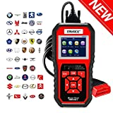 TryAce OBD2 Scanner,OBDII Auto Diagnostic Code Scanner Universal Vehicle Engine O2 Sensor Systems Scanner OBD2 EOBD Scanners Tool Check Engine Light Code Reader for all OBD II Protocol Cars Since 1996