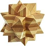 Philos 6056 - Apollo-Puzzle, Bambus, Green Games, 12 Puzzle Teile, Knobelspiel