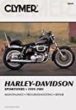 img - for Clymer Harley-Davidson Sportsters 59-85: Service, Repair, Maintenance book / textbook / text book