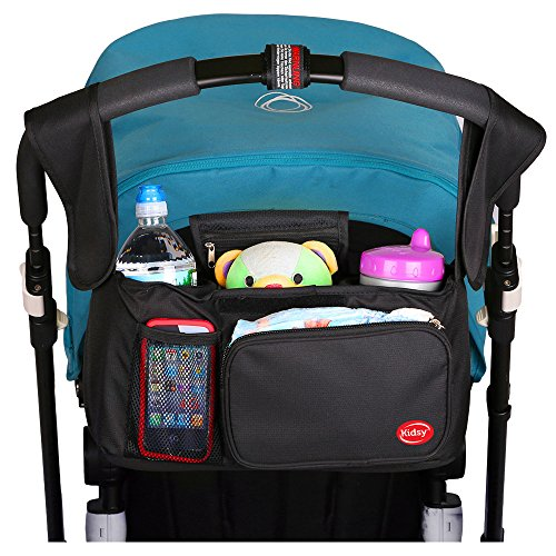 Universal-Stroller-Organizer-Bag-for-baby-strollers-Stroller-By-KidsyTM-Incredibly-Convenient-Practical-Top-Line-Quality-Storage-Bag-For-Enjoyable-Hassle-Free-Walks-With-Your-Baby