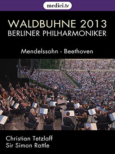 Waldbühne 2013 : Freude schöner Götterfunken