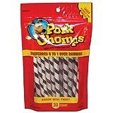 Pork Chomp Twizts - 30 ct - Small/Mini dogs - Bacon