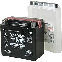 Yuasa YUAM3RH4L YTX14L-BS Battery