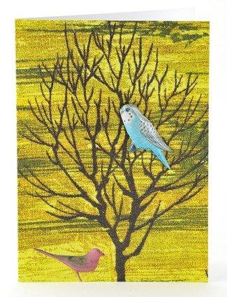 Petra Boase Tin Badge Card - Big Tree front-347096