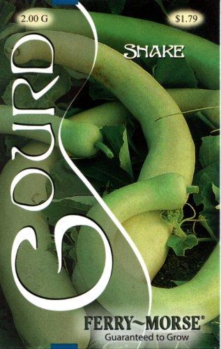 Ferry-Morse 2111 Gourd Annual Flower Seeds, Snake (2 Gram Packet)