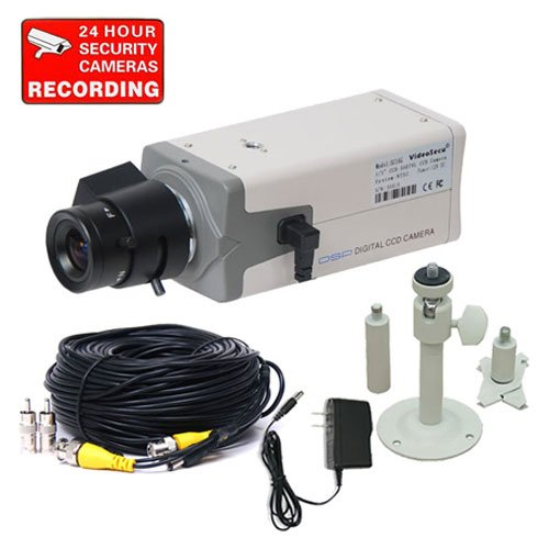 VideoSecu Low Light 540TVL High Resolution CCTV Security Body Camera 1/3