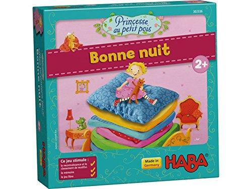 Haba - Princesse au petit pois - Bonne nuit - Bois,Carton - 302336