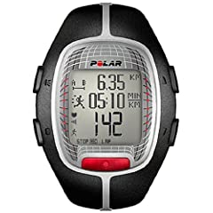 Polar RS300X Heart Rate Monitor Watch (Black) by Polar
