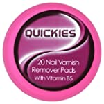 Quickies Convenience Nail Varnish Rem...