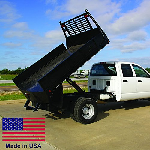 Flat Bed Truck Dump Kit for 8 to 12 Ft Flat Bed Trucks - 5 Ton Cap - Made in Usa (Flatbed Dump compare prices)