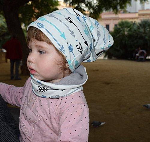 ensemble-unisexe-pour-enfants-avec-fleches-de-bonnet-et-echarpe-le-bonnet-est-reversible-de-jersey-c