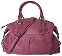 Hot Sale Coach Leather Ashley Sabrina Satchel Duffle Bag Purse Tote 15445 (Ginger Beet)