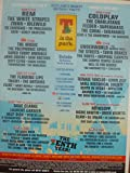T in the Park 2003 (Coldplay, R.E.M. & More), Original Press Promo - Mounted Poster