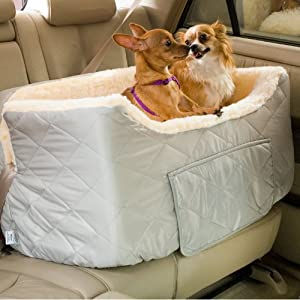 Snoozer 80043 Large Lookout II Pet Car Seat, Grey