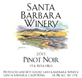 2013 Santa Barbara Winery Sta. Rita Hills Pinot Noir 750 mL Wine