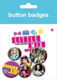 GB eye Little Mix Pop Badge Pack