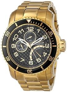 Invicta Men's 15341 Pro Diver Analog Display Japanese Quartz Gold Watch