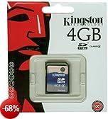 Kingston SDHC 4GB SD Card 2.0 Scheda di memoria Class 4